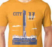 City 17 Travel Poster  Unisex T-Shirt