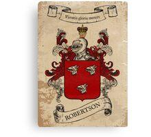 Robertson Coat of Arms (Scotland) Canvas Print