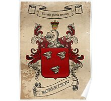 Robertson Coat of Arms (Scotland) Poster