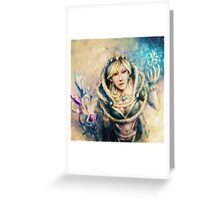 crystal maiden Greeting Card