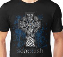 Scottish Celtic Cross Unisex T-Shirt