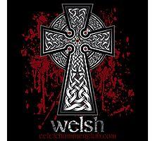 Welsh Celtic Cross Photographic Print