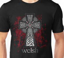 Welsh Celtic Cross Unisex T-Shirt
