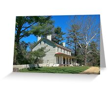 Farm House History  Greeting Card