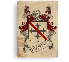 Nelson Coat of Arms (England) Canvas Print