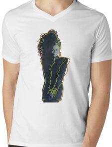 Janet Jackson - Control Mens V-Neck T-Shirt
