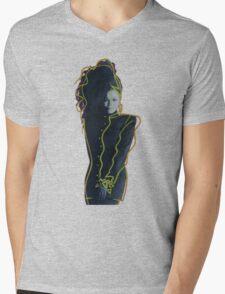 Janet - Control Mens V-Neck T-Shirt