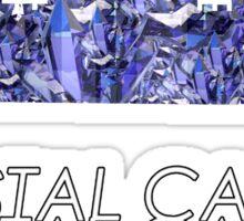 Crystal Castles// Crystal castle Sticker