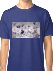 Crystal Castles washed out flowers Classic T-Shirt