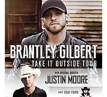 B. GILBERT with special guest JUSTIN MOORE & COLT FORD Photographic Print