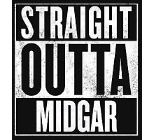 Straight Outta Midgar - Final Fantasy VII Photographic Print