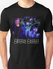 Crystal Castles Glitch Art T-Shirt