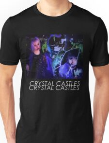 Crystal Castles Glitch Art Unisex T-Shirt