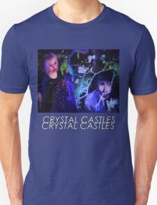 Crystal Castles Glitch Art Unisex T-Shirt