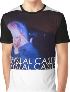 Crystal Castles Alice VHS filter Graphic T-Shirt