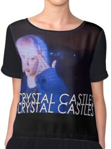 Crystal Castles Alice VHS filter Chiffon Top