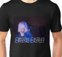 Crystal Castles Alice VHS filter Unisex T-Shirt