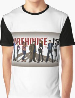 Warehouse 13 - Drawing - Cast Graphic T-Shirt