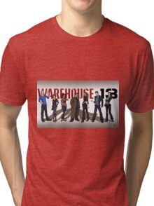 Warehouse 13 - Drawing - Cast Tri-blend T-Shirt