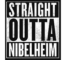 Straight Outta Nibelheim - Final Fantasy VII Photographic Print