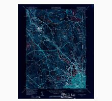 USGS TOPO Map Rhode Island RI Pawtucket 353441 1949 31680 Inverted Unisex T-Shirt