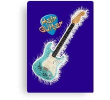 Hair Guitar Canvas Print
