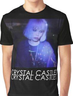 Crystal Castles Alice VHS filter coloradjust 3 Graphic T-Shirt