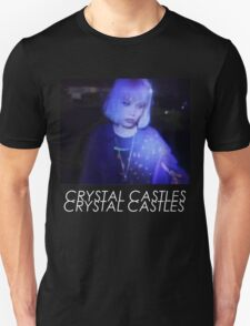 Crystal Castles Alice VHS filter coloradjust 3 T-Shirt