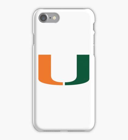 U Miami iPhone Case/Skin