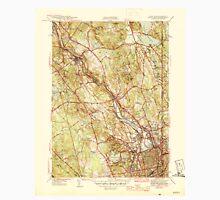 USGS TOPO Map Rhode Island RI Pawtucket 353439 1944 31680 Unisex T-Shirt
