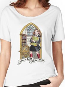 Hermione Bookworm Women's Relaxed Fit T-Shirt
