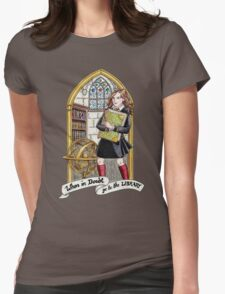 Hermione Bookworm Womens Fitted T-Shirt
