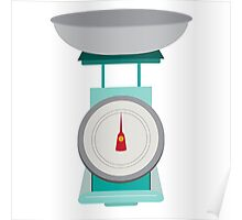 Kitchen Scales Poster