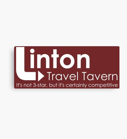 Alan Partridge - Linton Travel Tavern Canvas Print