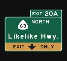 Likelike Highway, HI Road Sign, USA Baby Tee