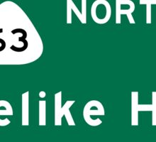 Likelike Highway, HI Road Sign, USA Sticker