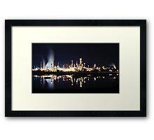 Martinez Shell Refinery Framed Print
