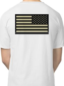 AMERICAN ARMY, Soldier, American Military, Arm Flag, US Military, IR, Infrared, USA, Flag Classic T-Shirt