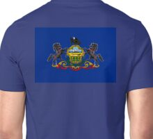 Pennsylvania, Flag, States of the Union, USA, America, American, US Unisex T-Shirt