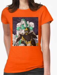 Tigatron and Airazor Womens Fitted T-Shirt