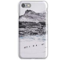 Glacier Walkers iPhone Case/Skin