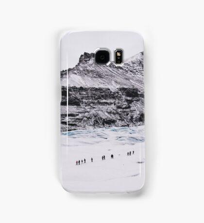 Glacier Walkers Samsung Galaxy Case/Skin
