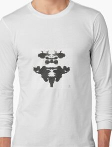 Stags ink blot  Long Sleeve T-Shirt