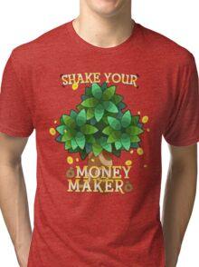 Animal Crossing - Shake your money maker Tri-blend T-Shirt