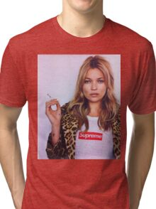supreme kate moss Tri-blend T-Shirt