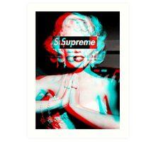 supreme  Art Print