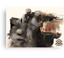 C Company 3-156 Products Canvas Print