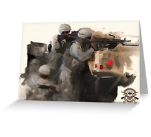 C Company 3-156 Products Greeting Card