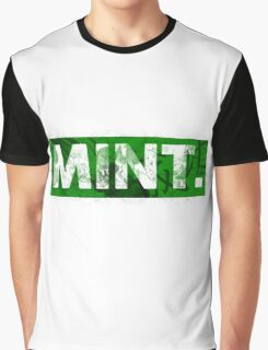 Mint. | Green Graphic T-Shirt