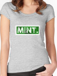 Mint. | Green Women's Fitted Scoop T-Shirt